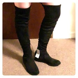A new day (target brand), black over knee boots